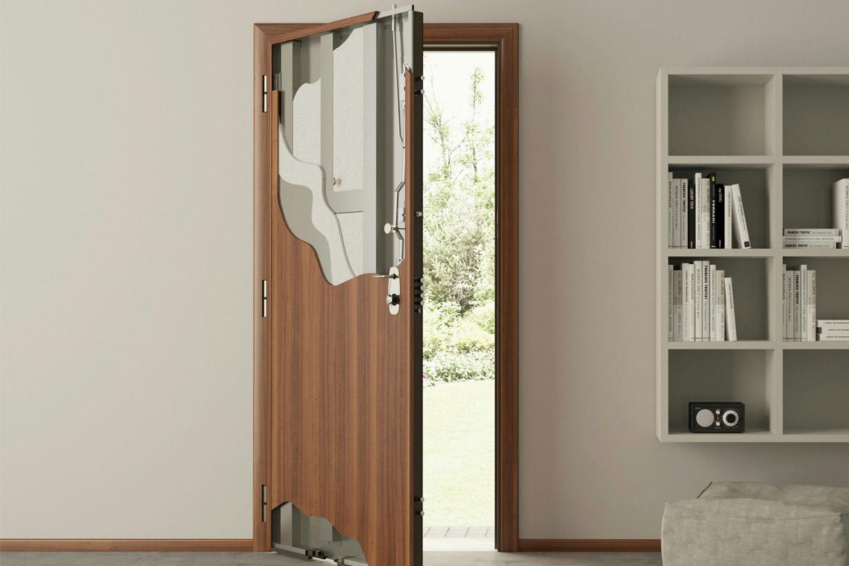 Бронированные металлические двери