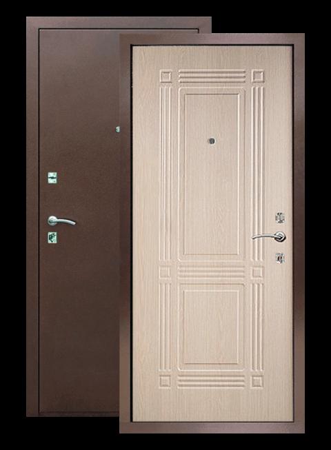 Входная дверь Триумф РФ белёный дуб