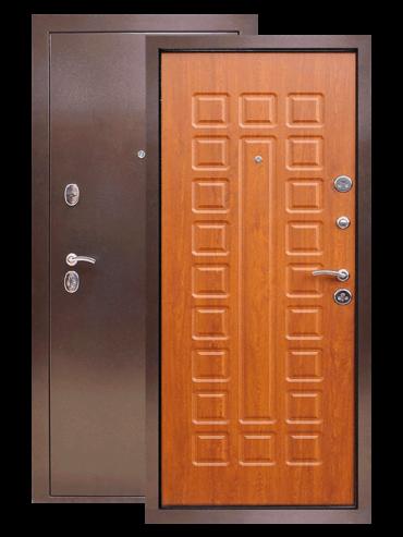 Входная дверь Патриот золотой дуб