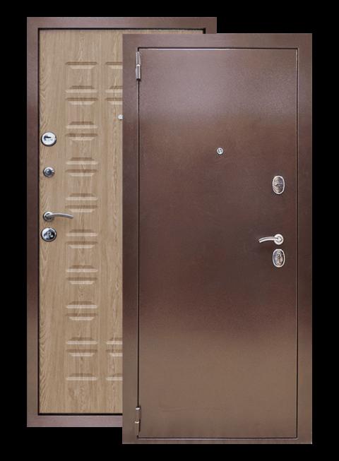 Входная дверь Йошкар РФ карпатская ель, снаружи