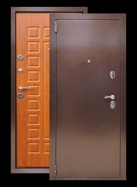Входная дверь Йошкар РФ золотой дуб, снаружи