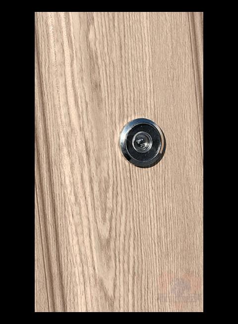 Входная дверь Йошкар РФ карпатская ель, глазок