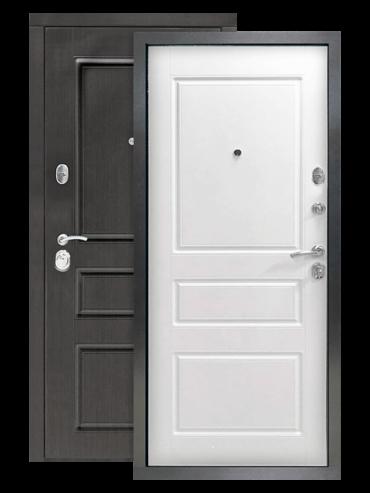 Дверь Гранд 2К винорит венге/белый RAL 9003