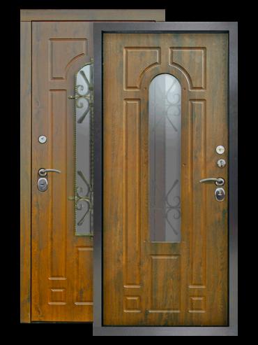 Дверь Лацио 2 винорит грецкий орех
