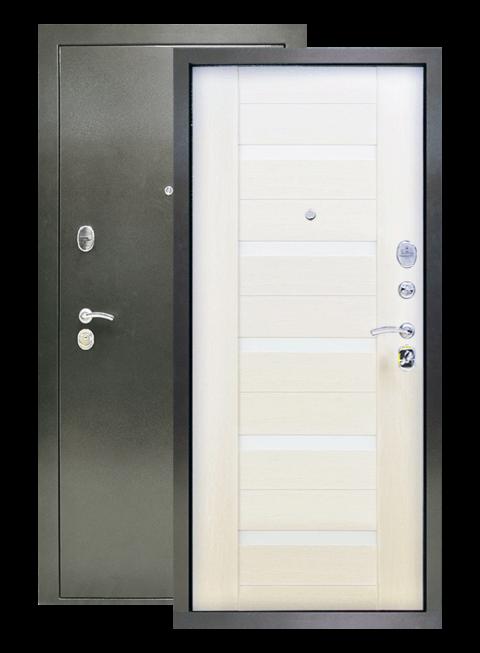 Дверь Люкс 3К лиственница белёная
