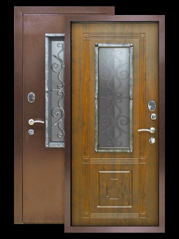 Дверь Плющ винорит грецкий орех
