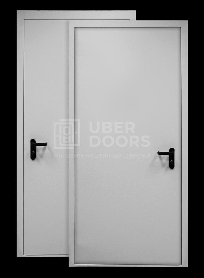 противопожарная дверь Ei60 Ral 7035