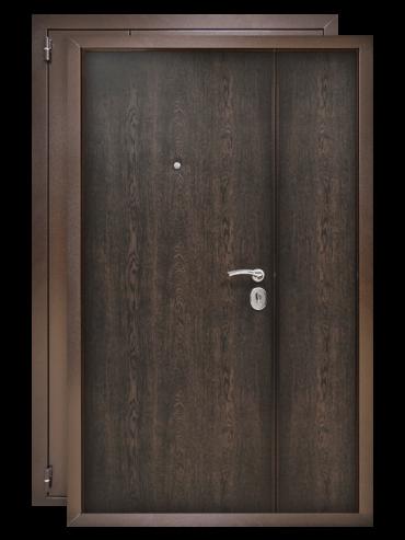 Распашная дверь 1200 венге
