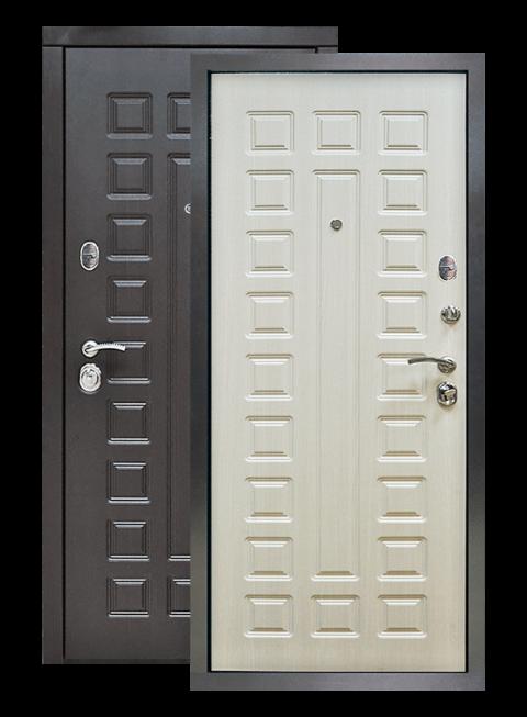 Дверь S01 винорит венге/лиственница белая