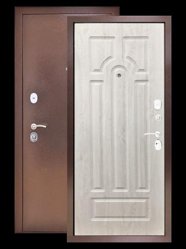 Дверь Титан 3К арка сосна белая