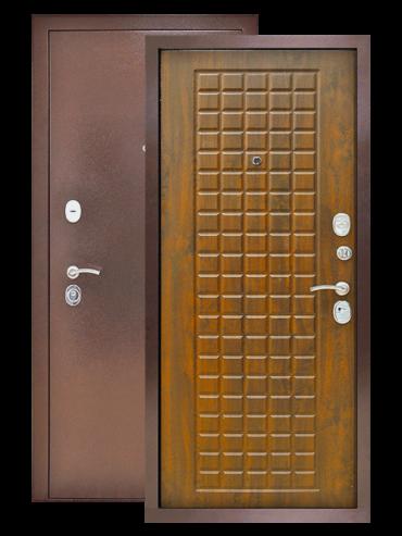 Дверь Титан 3К винорит грецкий орех
