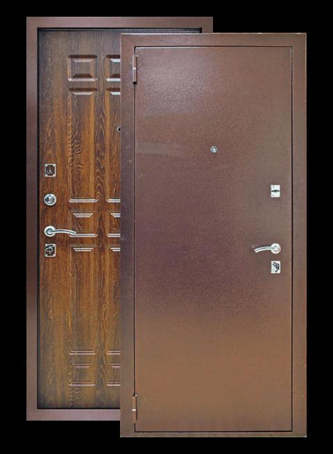 Дверь Кантри дуб коньяк, снаружи