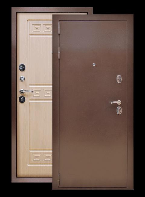 Дверь Троя 3К белёный дуб, снаружи
