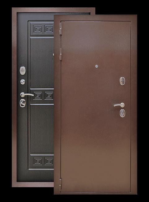 Дверь Троя 3К венге, снаружи