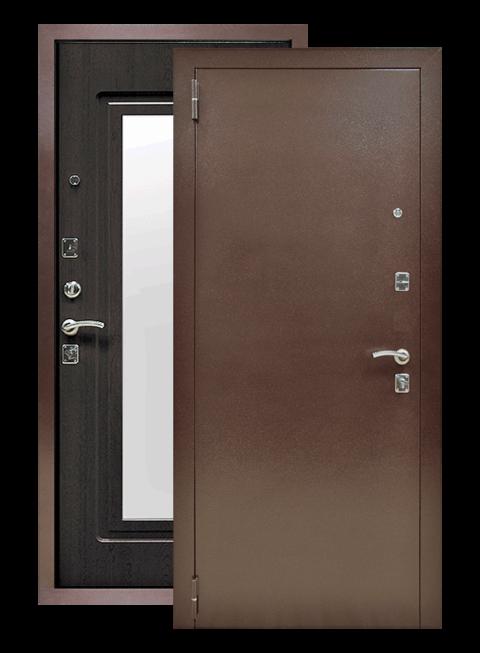 Дверь Царское зеркало венге, снаружи