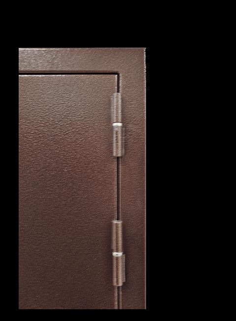 Дверь Троя 3К венге, петли и наличник