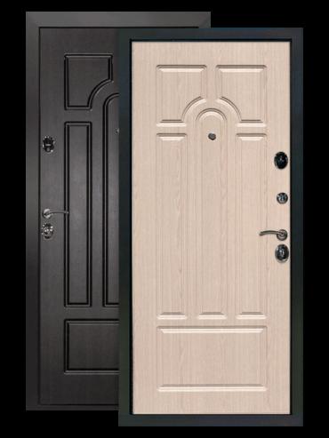 Дверь Эврика венге белёный дуб