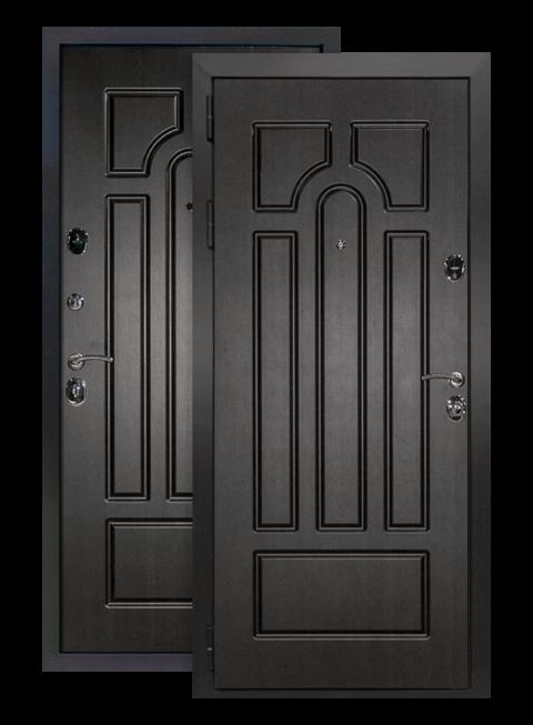 Дверь Эврика венге, снаружи