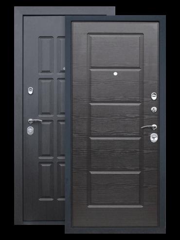 Дверь Фортуна венге поперечный