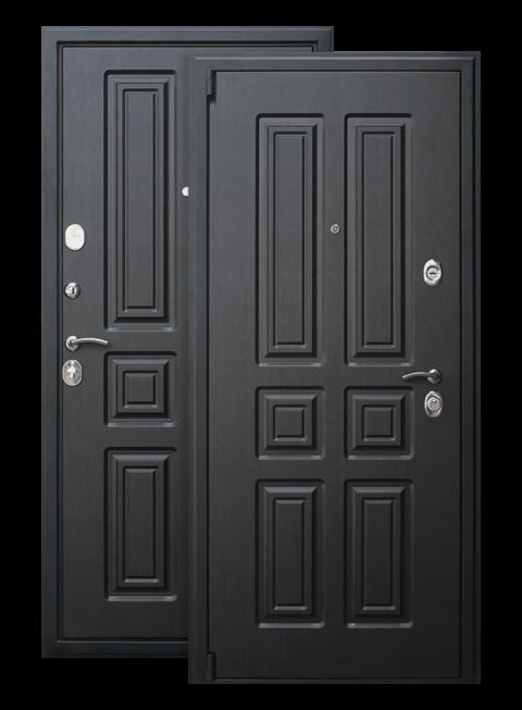 Дверь Атлант венге ЕвроСтиль, снаружи