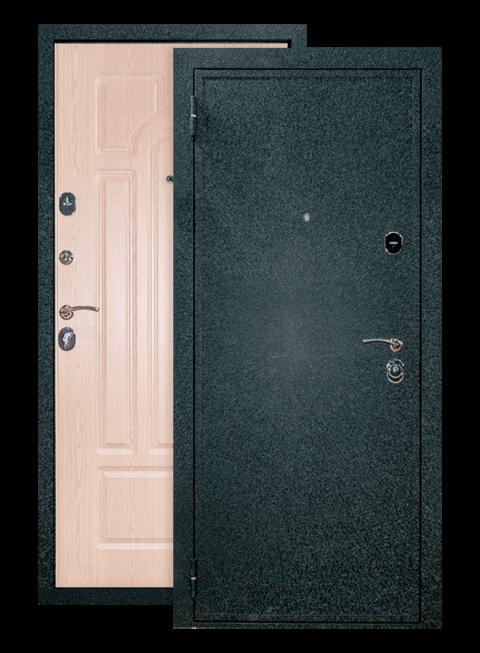 Дверь Верона 6 белёный дуб, снаружи