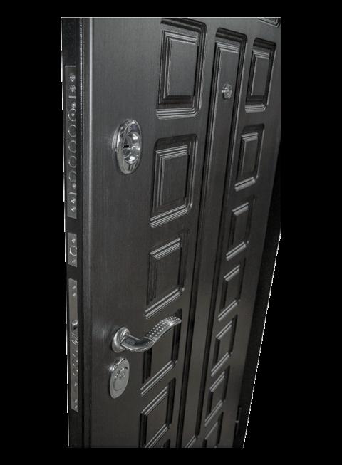 Дверь Сенатор венге, наружная МДФ-панель