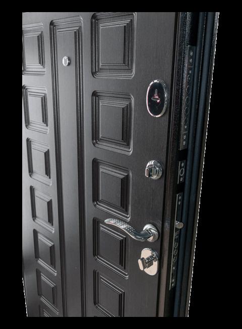 Дверь Сенатор венге, внутренняя МДФ-панель и замки
