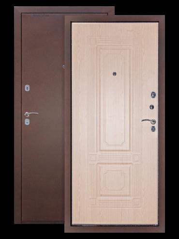 Дверь ДМ-1 белёный дуб