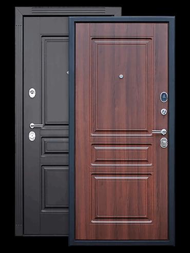 Дверь Гермес 2 венге/орех бренди