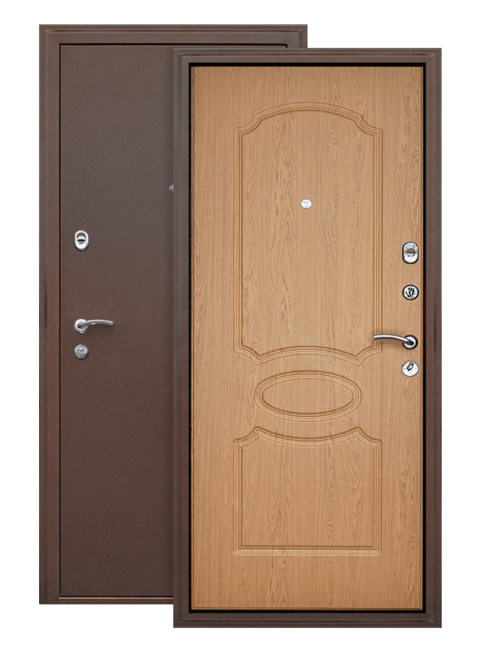 Дверь Грация дуб светлый