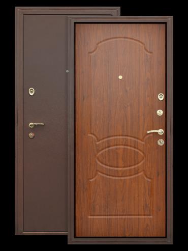 Дверь Грация орех тёмный