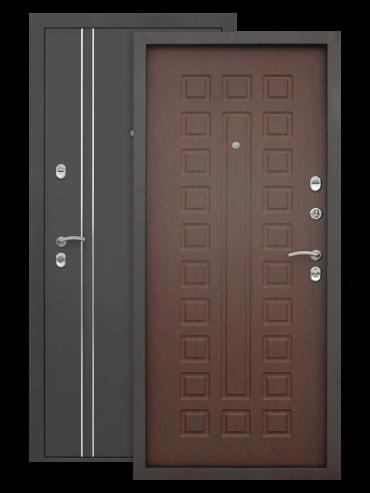 Дверь Термо 3К орех премиум