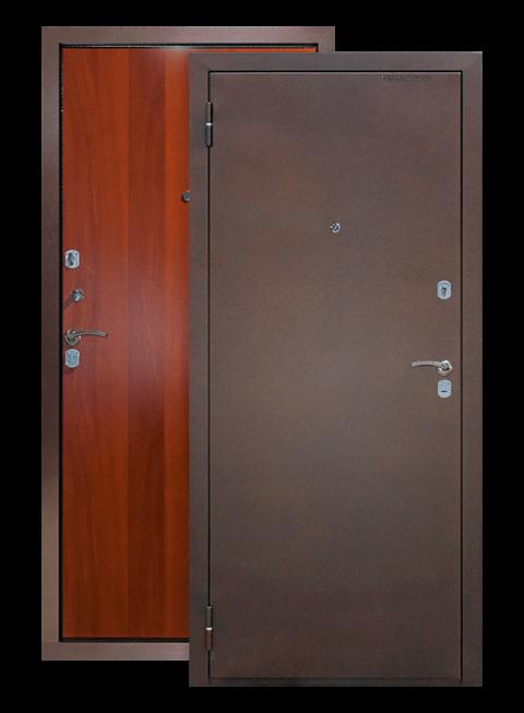Дверь Эконом итальянский орех Армада, снаружи