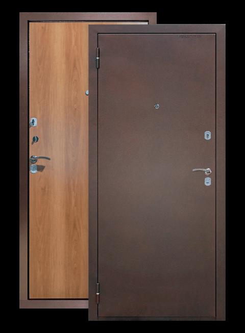Дверь Эконом миланский орех Армада, снаружи