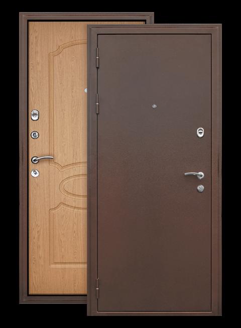 Дверь Грация дуб светлый, снаружи