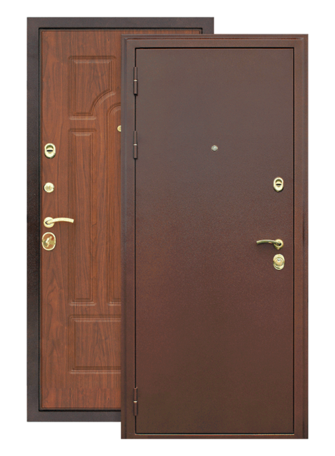 Дверь Курасива орех, снаружи