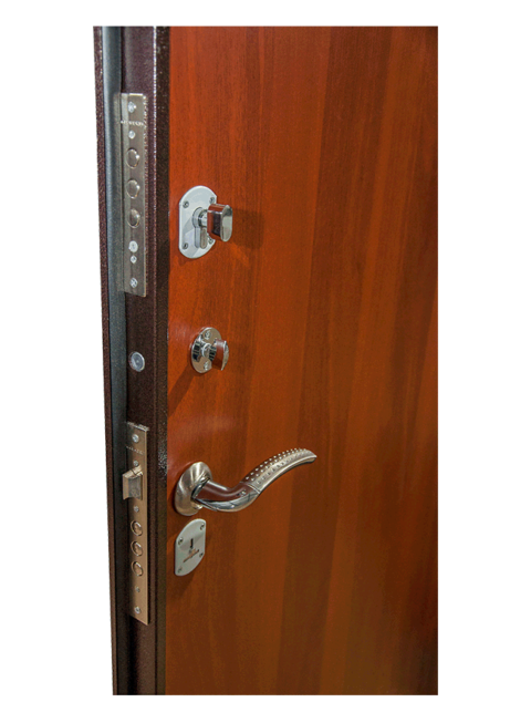 Дверь Эконом итальянский орех Армада, МДФ-панель