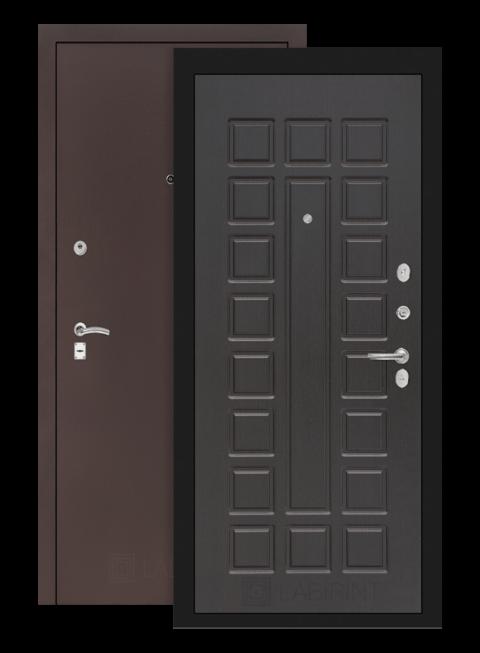 Дверь Классик 04 антик медный/венге
