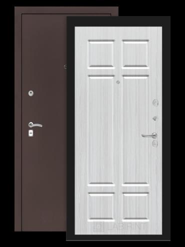 дверь Классик антик медный/кристалл вуд