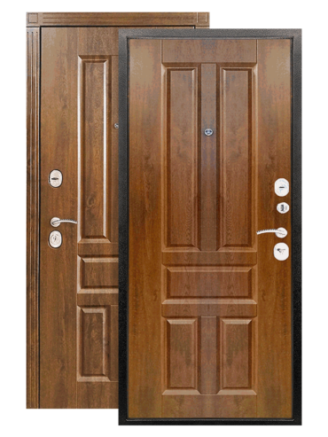 дверь канцлер 2к грецкий орех