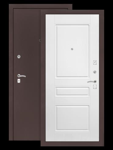 дверь классик медный антик белый софт