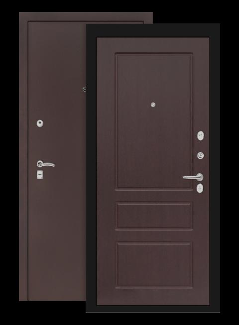 дверь классик медный антик орех премиум