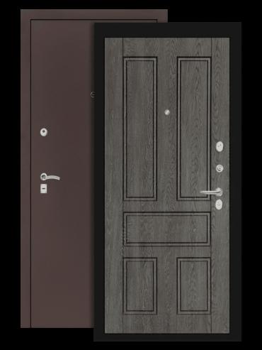 дверь классик медный антик дуб филадельфия графит