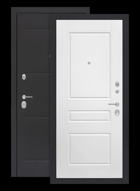 дверь лофт белый софт