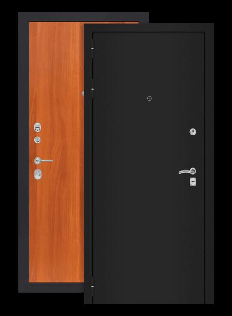 дверь классик 05 шагрень чёрная итальянский орех