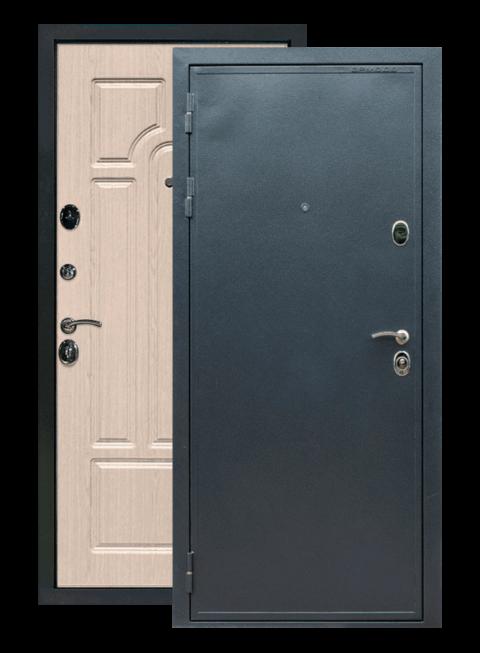 Дверь входная Престиж белёный дуб ФЛ-58