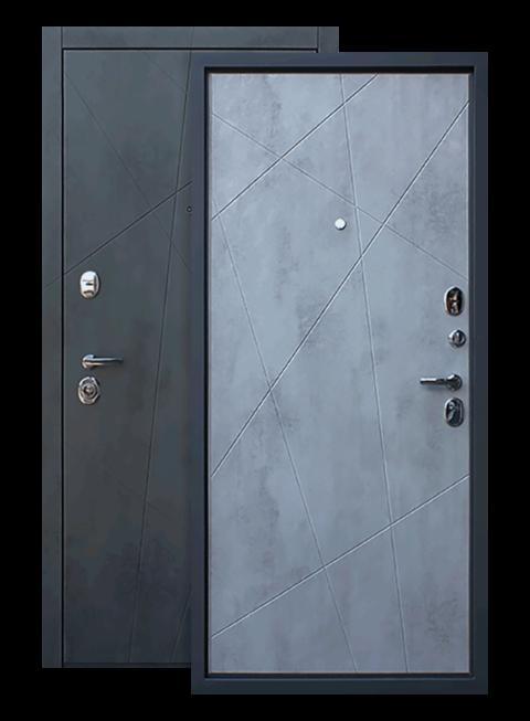 Входная дверь Дуэт Б Бетон Светлый, производитель АСД