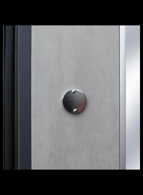 Дверь входная АСД Дуэт Б с зеркалом глазок