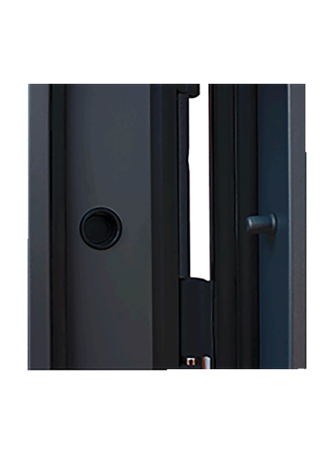 Входная дверь Дуэт Б Бетон Светлый, производитель АСД, детали
